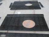 Черная жемчужина гранитной полированной плиткой&слоев REST&место на кухонном столе
