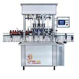 압축 공기를 넣은 소스 풀 크림 액체 충전물 충전물 기계 5-50ml.