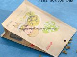 Bolso seco de papel inferior cuadrado impermeable de la fruta de la alta calidad