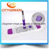 Microfiber складывая плоский Mop с телескопичной ручкой на вебсайт покупкы