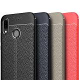 Мобильный телефон Litchi мягкий чехол для Huawei P20/P20 Lite TPU крышки