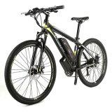 De aluminio de 26er 27,5er montaña bicicleta eléctrica con Shiamno M370 velocidad de 27