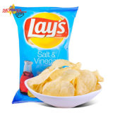 Machine automatique de conditionnement des aliments de pommes chips avec du ce