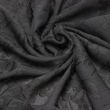 Tissu teint de mousseline de soie de grillage de viscose et de polyester