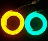 Una flessione al neon esterna da 180 gradi