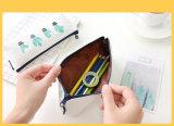 Le crayon lecteur coréen mignon d'organisateur de mémoire de trousse d'écolier de toile de cactus de Kawaii met en sac la papeterie d'approvisionnement d'école de Pencilcase de sac de crayon de poche