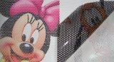 Solvent Printing를 위한 경제 One Way Vision Vinyl Sticker
