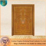 La Chine Desheng porte en bois fabricant indien de dessins et modèles en bois Portes doubles