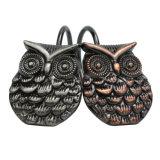 Rideau de douche facile Glide crochets Night Owl Conception peints à la main