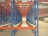 Tormento galvanizado acero resistente de la gravedad del almacenaje del rodillo