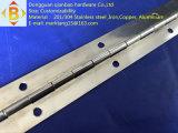 ステンレス鋼の長く連続的なヒンジ
