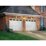 Porte blanche solide de garage isolée par Intellicore de R-Valeur de ramassage de rampe