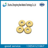 Lâmina de estaca manual da telha cerâmica do carboneto de Tungsteng com revestimento Gold-Plated