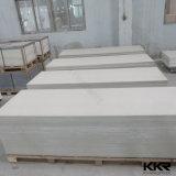 Surface solide acrylique du blanc 12mm d'atterrisseur de matériau de construction