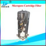 微小孔のある膜のステンレス鋼の衛生学単心水カートリッジフィルターハウジング