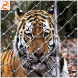 Стальной трос Handwoven сетка зоопарк ограждения