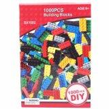 1000PCS ferramentas educacionais criativos bricolage bloco de construção plástica brinquedo para criança