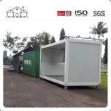 Het prefabdie Huis van de Container van het Huis van de Structuur van het Staal in China wordt gemaakt