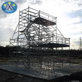 家の容易な作業アルミニウム望遠鏡の梯子のライト級選手の足場