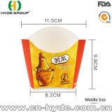 Kleines Nahrungsmittelgrad-Weißbuch-Chip-Cup