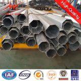 Pôles en acier galvanisés 12m Pôle de service pour le matériel de distribution d'énergie