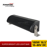 16,5 pulgadas 180W blanco de doble fila y barra de luces LED de color ámbar