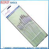 De alta calidad transparente cepillo de cerdas de pelo Set