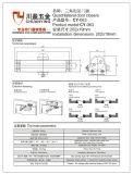 45-60kg Doma 유형 도어 체크, 삼각형 유형 도어 체크; UL 기준 도어 체크