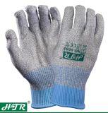 PUによって塗られた切口抵抗力がある反Vibrasionは安全作業手袋(セリウムの切口のレベル5)を編んだ