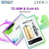2017 de Hete Verstuiver Van uitstekende kwaliteit van de Sigaret van Seego E van Nieuwe Producten met het Reusachtige Ontwerp van de Damp