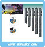 Calefator submergível do aquário da segurança com câmara de ar de quartzo ele série