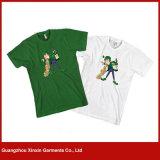 Camiseta linda de los pares de la familia de la impresión barata al por mayor (R111)