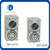Produtos caraterizados interruptor e soquete comutado padrão à prova de intempéries comutado combinação de Austrália do soquete do soquete