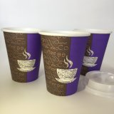 Qualitäts-heißer Verkaufs-einzelne Wand-Papiercup-Papierkaffeetasse
