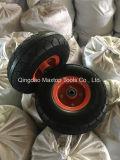 Roue libre plate de brouette de mousse d'unité centrale de la Chine Qingdao Maxtop350-4