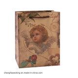 Draag de Mooie het Winkelen Kraftpapier van de Schoonheidsmiddelen van het Huwelijk van de Schoen van de Kleding Zak van het Document