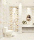 De hete Ceramiektegel van het Ontwerp van de Verkoop Gele Marmeren voor de Muur en de Vloer van de Badkamers