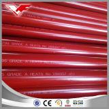 Classe tubulação do carrinho da boca de incêndio do material & de incêndio da tubulação da luta contra o incêndio Sch10 & Sch40 de B do aço ASTM A53 do ferro com pintura Ral3000