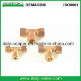 Encaixe de bronze do T do igual do alargamento da qualidade dos EUA (IC-9012)