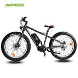 MEDIADOS DE bici gorda de la montaña E del neumático AMS-Tde-09 del motor impulsor de 350W 36V