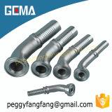 45 grados de brida SAE 3000 PSI tubo flexible hidráulico 87341