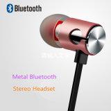 Metais magnéticos Headset Bluetooth para telefones móveis com controle remoto