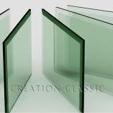 Ontruim de Aangemaakte Vierkante Bovenkant van het Glas
