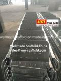 Galvanizado a paso las escaleras del bastidor andamios andamios o escaleras de acceso