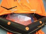Radeau de sauvetage en caoutchouc imperméable à l'eau de bateau marin avec 10p 25p 50p