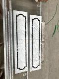 Couleur blanche de la pierre naturelle Honeycomb Panneau de base pour le pilier de la décoration