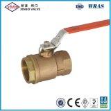 """Bronzekugelventil mit Verriegelungsgriff-Modell: Q1501/4 """" - 4 """" ISO9001: 2000/ANSI372ceen331"""