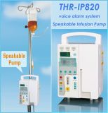 Thr-IP820 Bomba de Infusão volumétrica Speakable