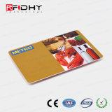 Tamanho personalizado Natg 13.56MHz213 Cartão do bilhete de metro de papel de RFID