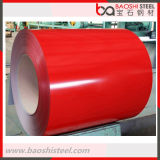 El color de PPGI/PPGL cubrió la bobina de acero del material para techos